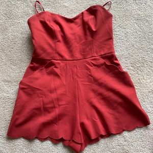 Strapless Urban Outfitters Romper